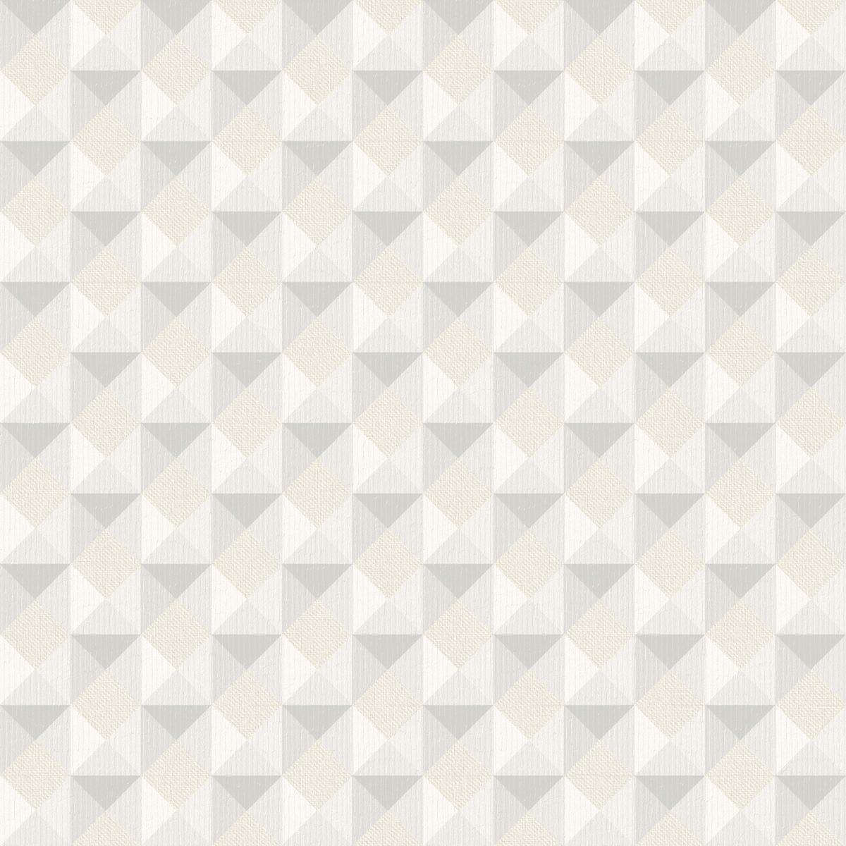 Papel de Parede Vinilizado Atemporal Geométrico