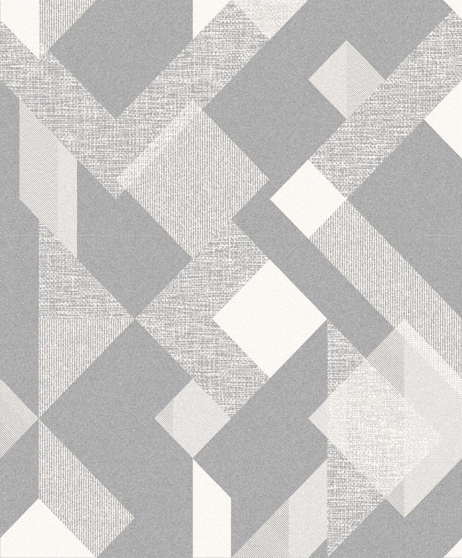 Papel de Parede Vinilizado Atemporal Geométrico Expanso