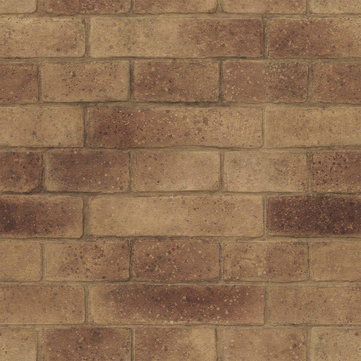 Papel de parede tijolinho vinílico Natural