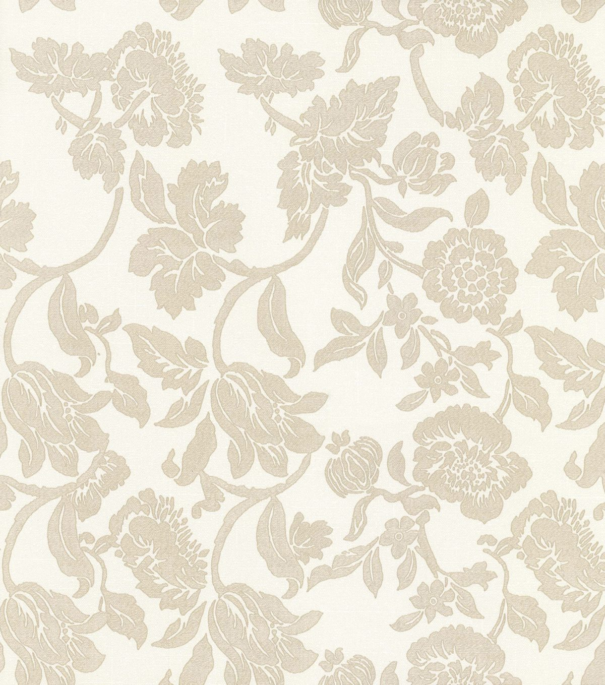 Papel de parede floral vinílico Harmonia