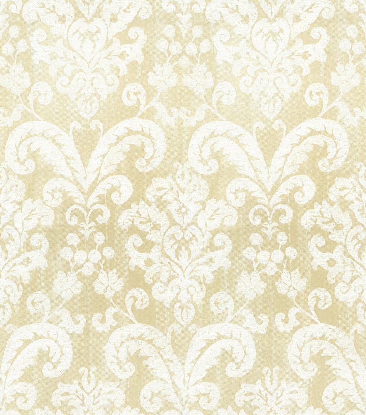 Papel de parede floral vinilizado Classique