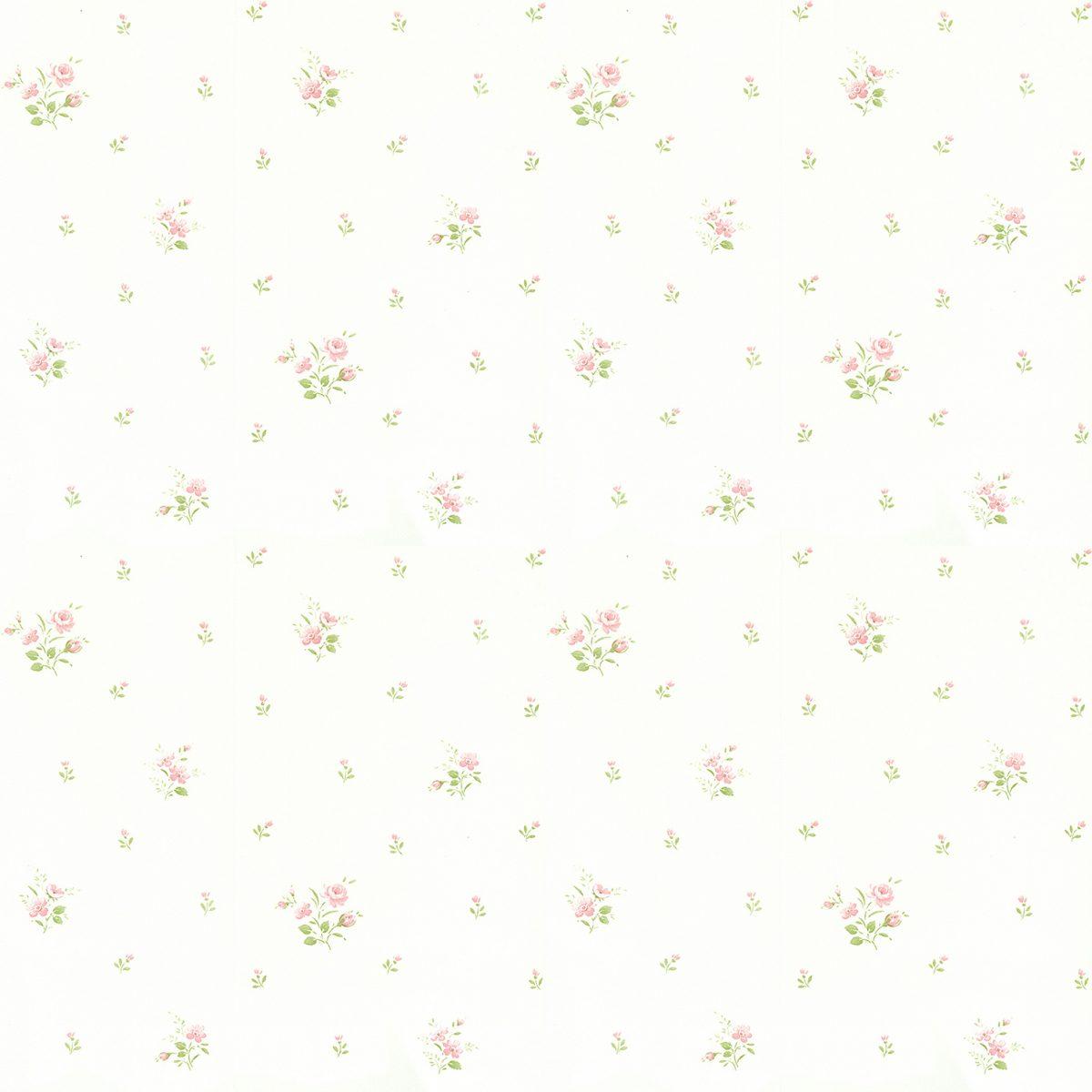Papel de parede florzinhas vinilizado Figuras