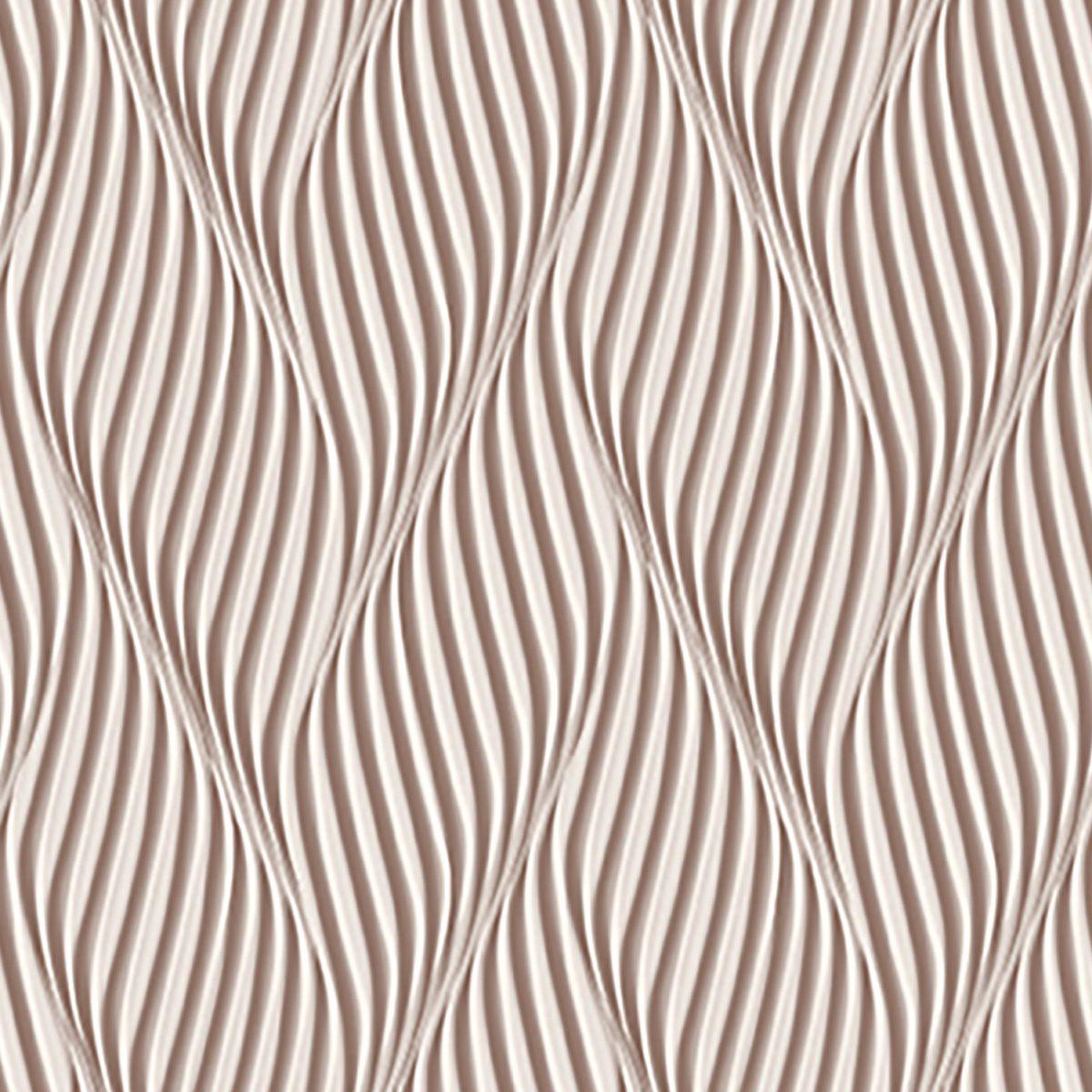 Papel de parede espiral  vinílico Dimensões