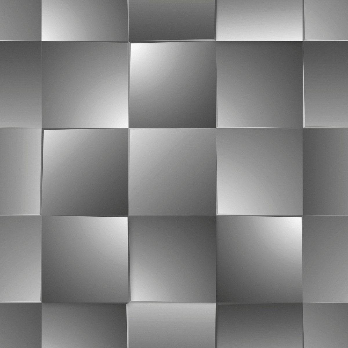 Papel de parede quadrado vinílico Dimensões