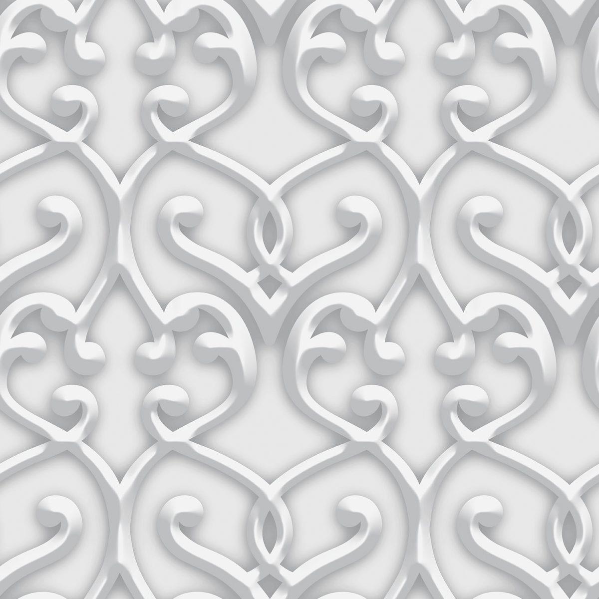 Papel de parede  damask  vinílico Dimensões