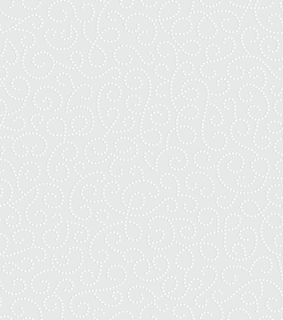Papel de parede arabesco de flor vinílico Renascer