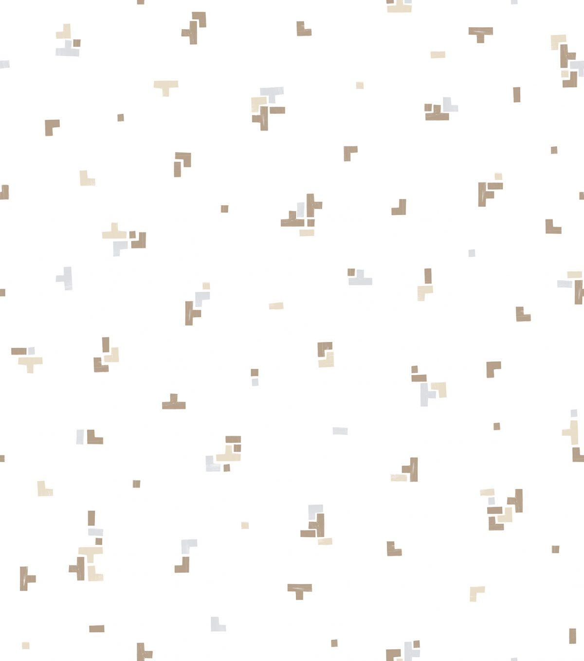 Papel de parede geométrico