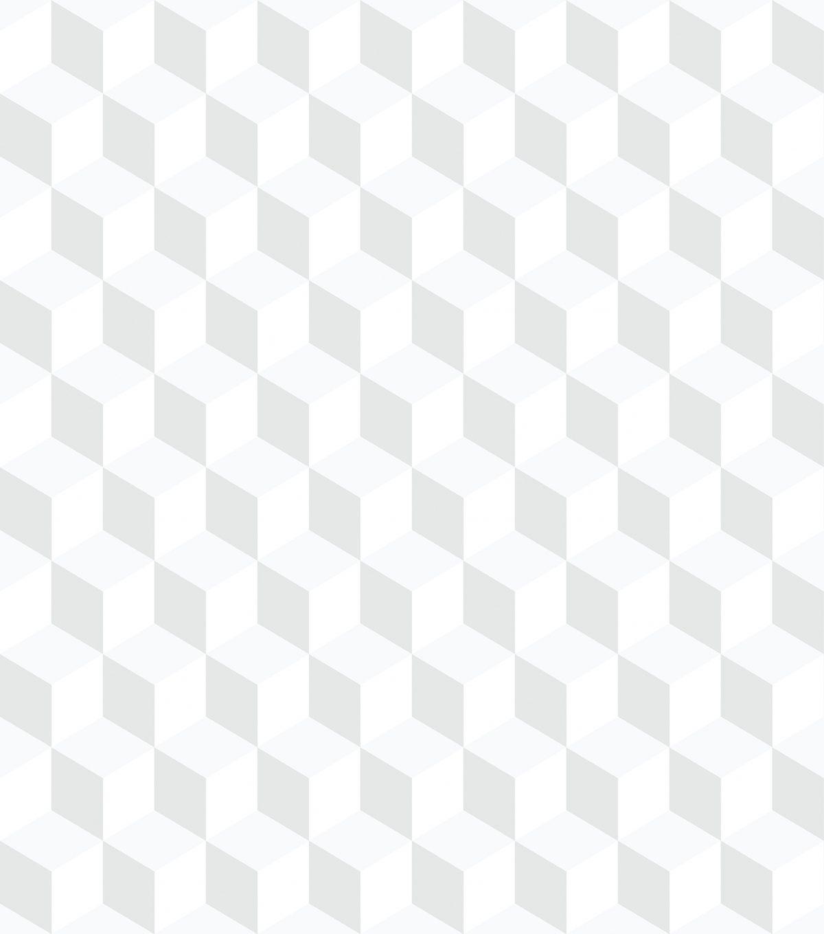 Papel de parede cubos geométricos