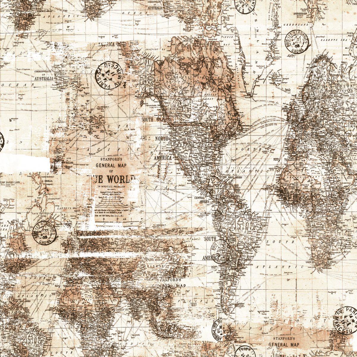 Papel de parede mapa