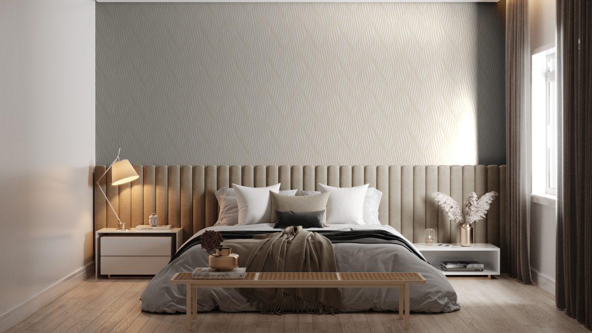 Como aumentar um ambiente com papel de parede?