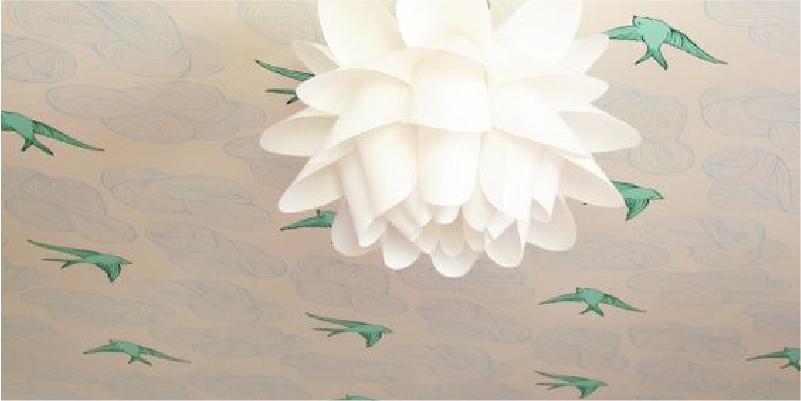 Papel de parede no teto: tudo o que você precisa saber