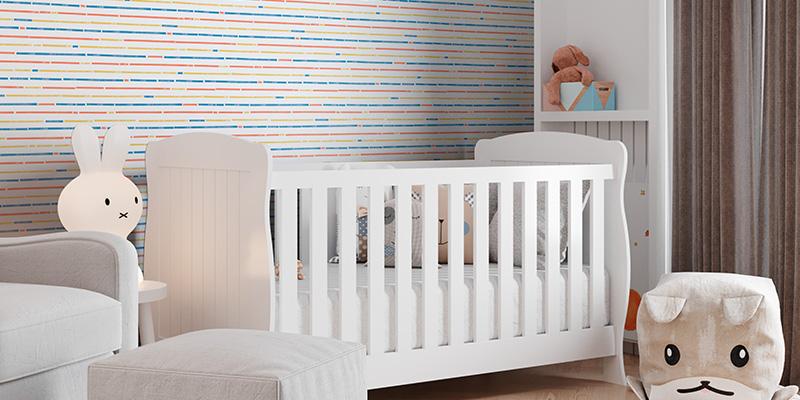 Listras horizontais e verticais na decoração do quarto de crianças e adolescente: como fazer