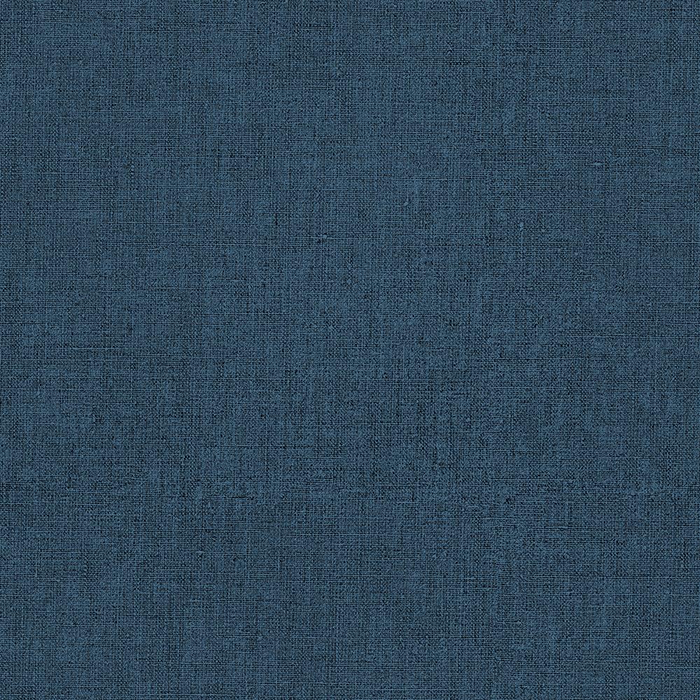 Papel de Parede Vinílico Contemporâneo Rústico Texturas Azul Marinho